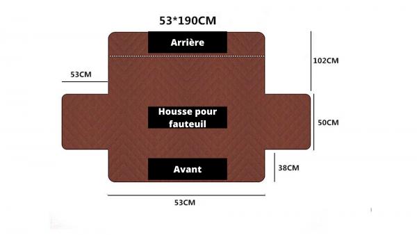 Dimension Housse Fauteuil 1 place