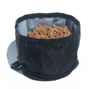 Foldable outdoor bowl for dogs