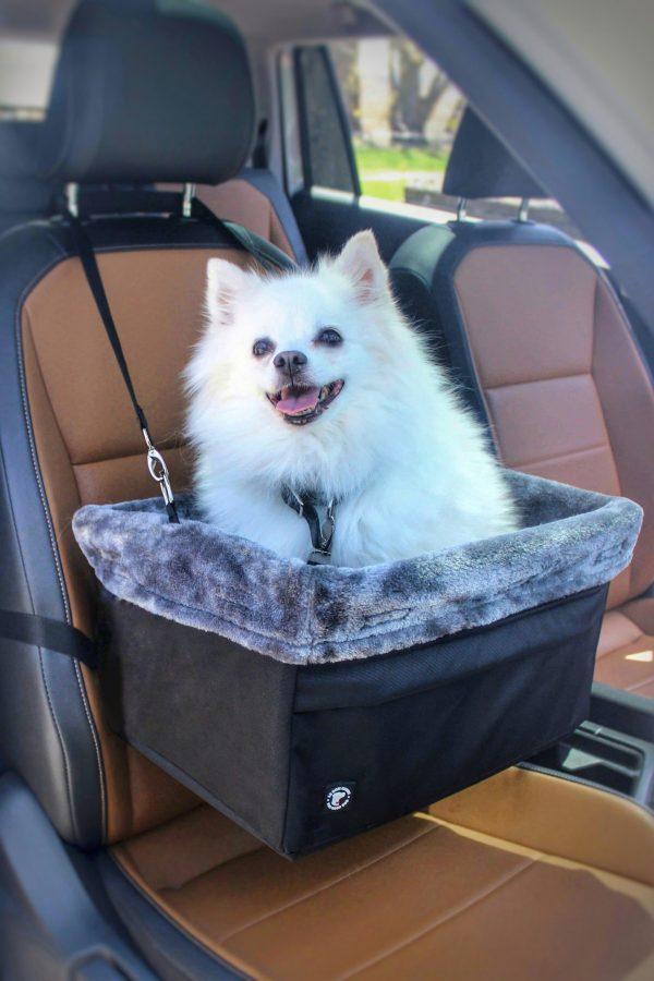 Panier rehausseur pour l'auto - Le Bon chien